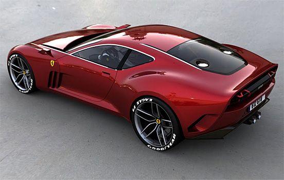 Awesome Car Design – The Ferrari 610 GTO | The Design Inspiration