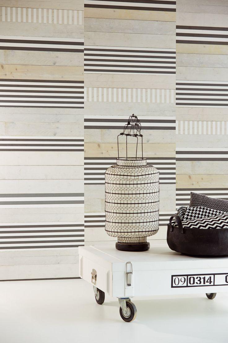 Contemporary stripe from Eijjfinfer www.wallpapershop.com.au