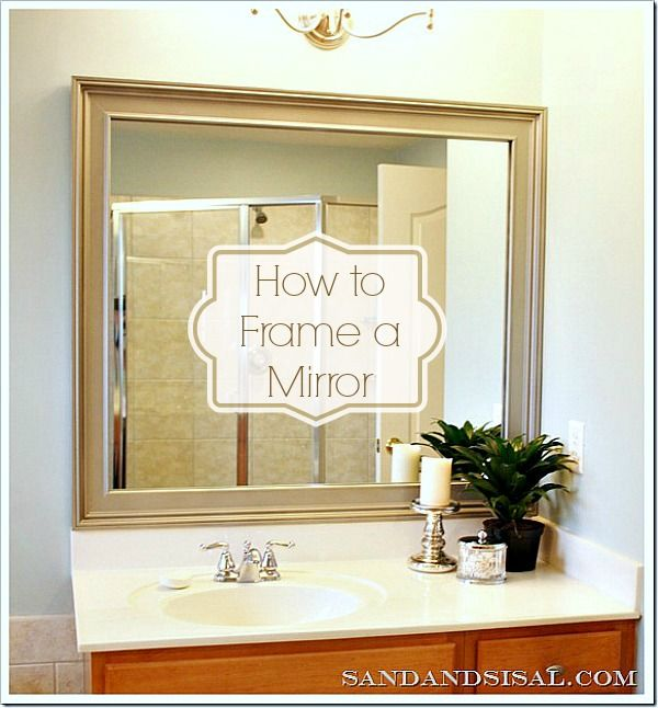 bathroom mirror trim best 25 framing a mirror ideas on framed 11101