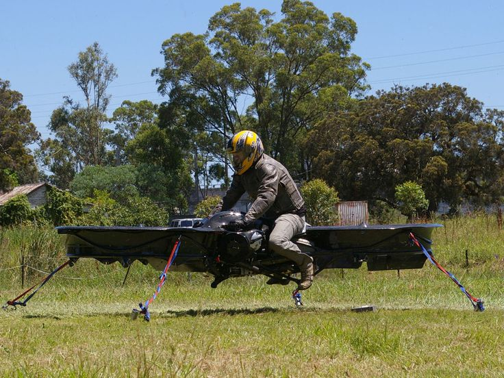 A kickstarter project: Hoverbike is a revolution in aviation, designed to do what a helicopter does, but cost less and do so better