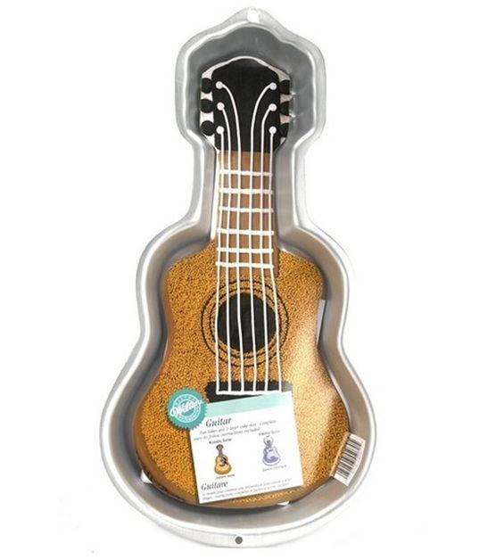Wilton Guitar Cake Pan, , hi-res
