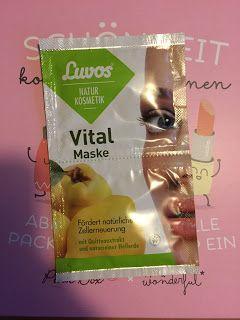 Luvos Heilerde - Luvos Vital Maske mit Quittenextrakt