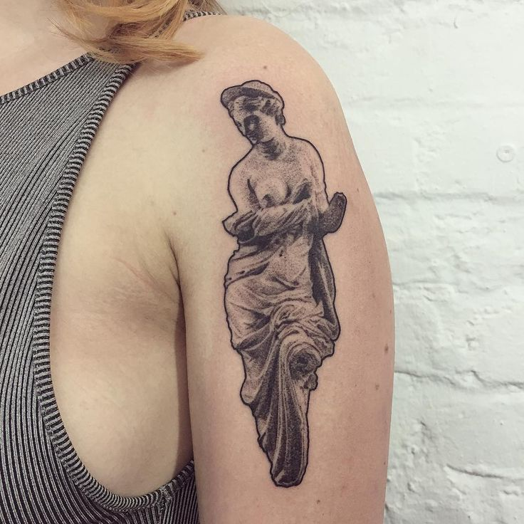 Aphrodite for Steffi #aphrodite #greekgoddess #greekpantheon #aphroditetattoo