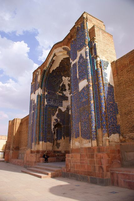 Blue Mosque Tabriz Iran   - Explore the World with Travel Nerd Nici, one Country at a Time. http://TravelNerdNici.com