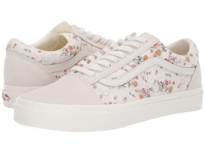 Vans floral shoes, Vans, Sneakers