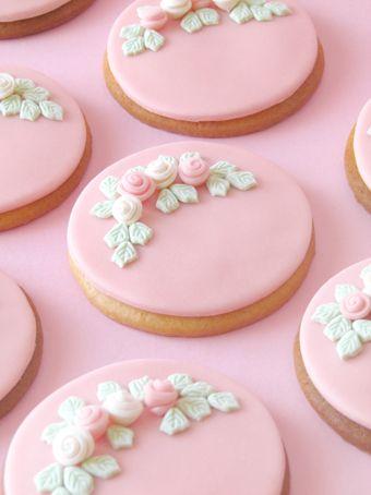os biscoitos mais lindos e delicados do mundo