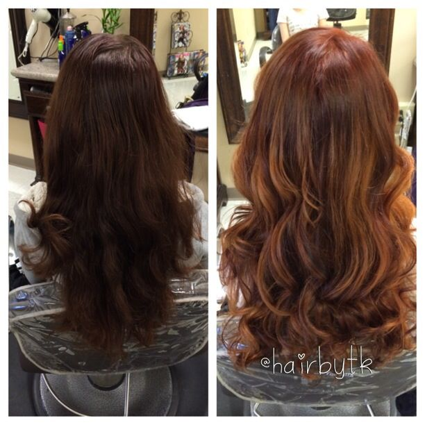 27 best red ombre balayage images on pinterest red ombre before and after red hair with balayage highlights pmusecretfo Image collections