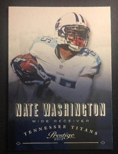 2013 (TITANS) Prestige #191 Nate Washington