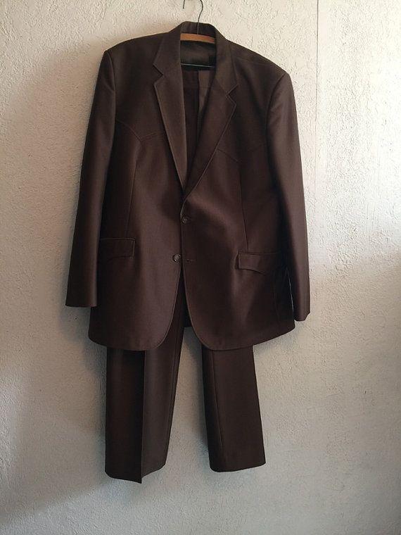 Vintage Circle S Western Suit Jacket & Pants by kitschbitchvintage