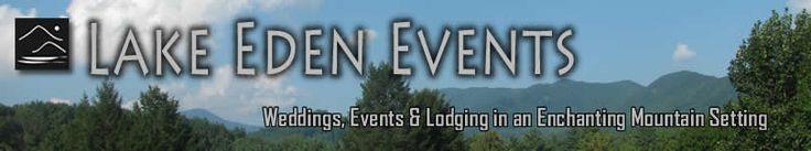 Asheville Wedding Venue, Lake Eden
