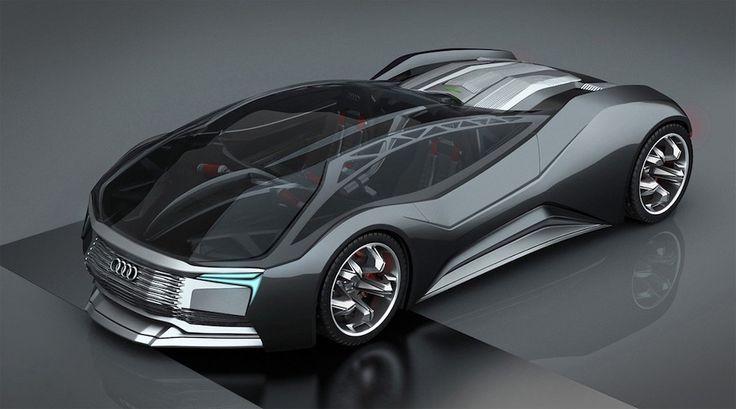 Audi Mesarthim F-Tron Quattro Concept, le concept-car équipé d'un réacteur à fusion nucléaire - http://www.leshommesmodernes.com/audi-mesarthim-f-tron-quattro/