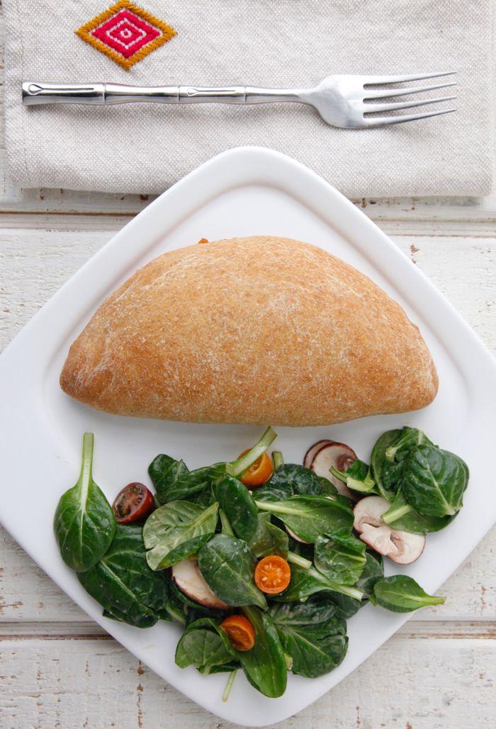 Vegetarian Calzones from weelicious.com