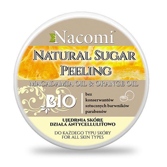 Peeling cukrowy pomarańcza – macadamia - Nieprzyzwoicie naturalny sklep dla kobiet lubiących siebie