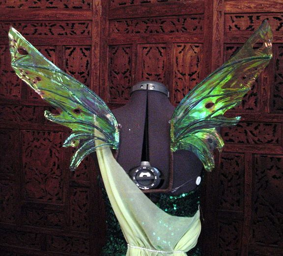 how to create wings for a costume