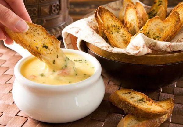 сырное фондю без вина рецепты