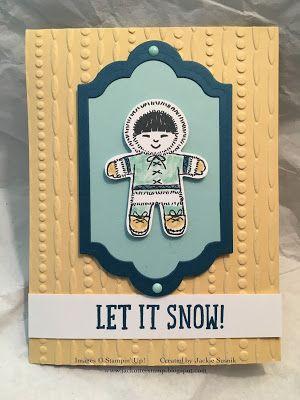 JackOtterStamp: Cookie Cutter Eskimo