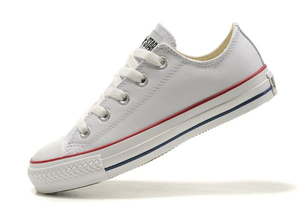 converse all white low tops