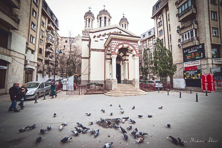Biserica Zlatari - Centrul Vechi, Bucuresti. Zlatari church - Old City, Bucharest
