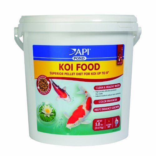 Maximizes growth and body confirmation in small and medium koi (up to 8'). High utilization protein process and inclusion of zeolite results in cleaner clearer water. Plus high palatability from poly...