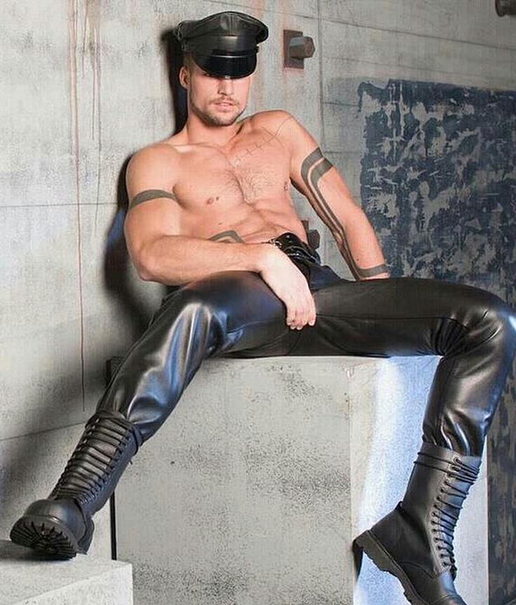 Gay Mature Leather