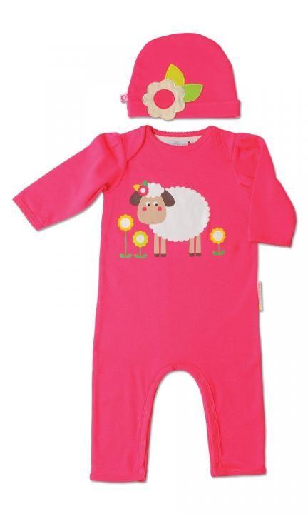 Σετ Φορμάκι και Σκουφάκι για νεογέννητα Sheila The Sheep