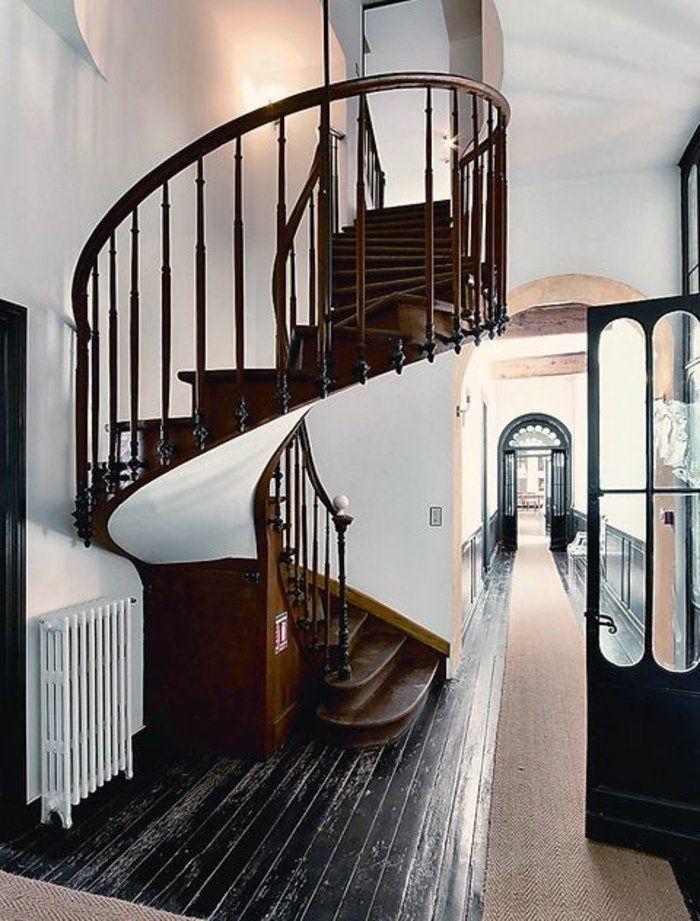 les 25 meilleures id es de la cat gorie escalier bois pas. Black Bedroom Furniture Sets. Home Design Ideas