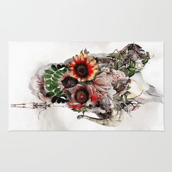 #skull #rug #homedecor