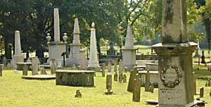 Nashville Old City Cemetery - one of the oldest public cemeteries in the region (est. 1822) and holds the remains of many early settlers.