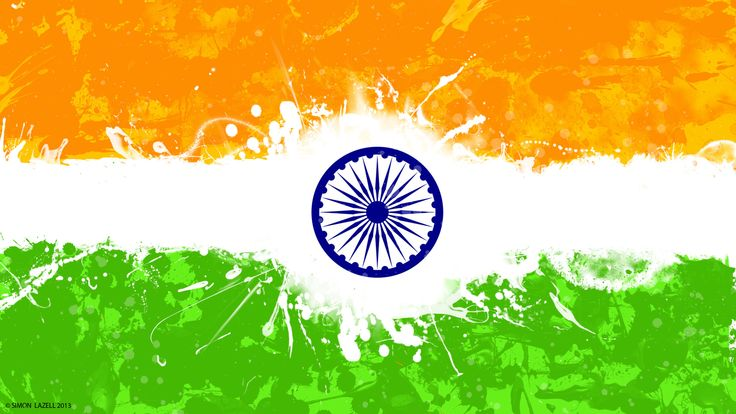 India Flag Wallpaper Abstract