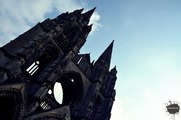 Saint Jean des Vignes Abbey in Soissons, France.