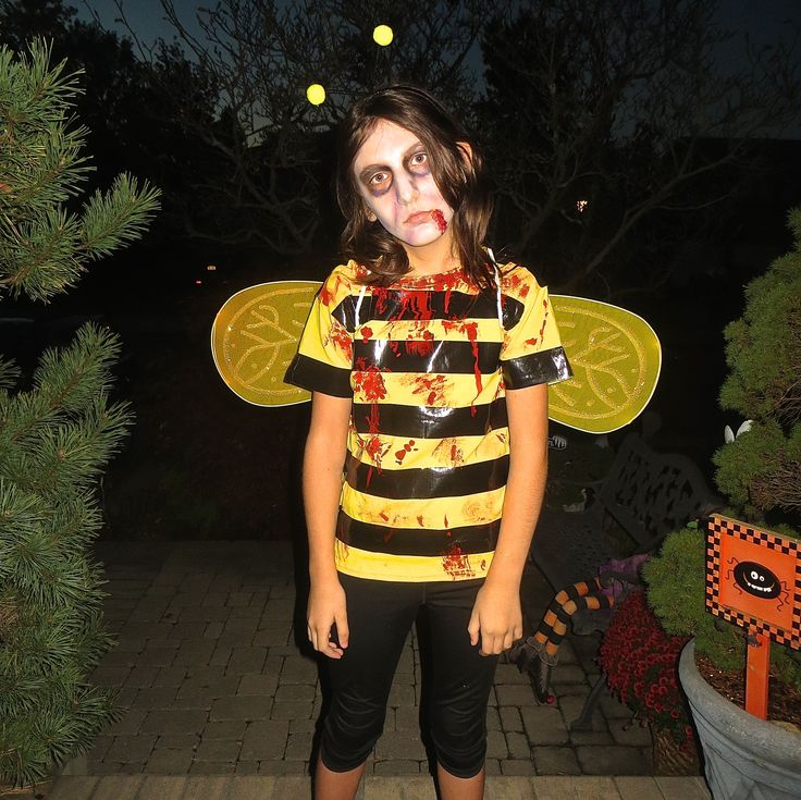 a zombee halloween costume - Halloween Puns Costume