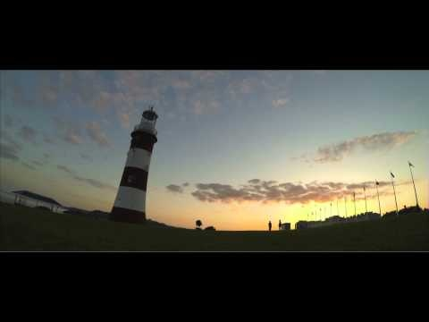 Amazing timelapse of the lighting of Smeaton's Tower to promote Plymouth's City of Culture bid for 2017 - By Rebecca Stunell