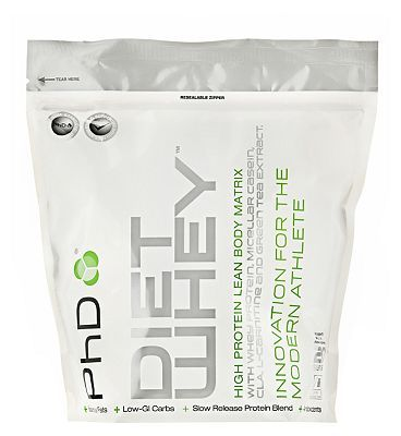 PhD Diet Whey Protein Strawberry Delight with 128 Advantage card points. PhD Diet Whey Protein Strawberry Delight is a high protein food supplement with CLA, L-Carnitine, Green Tea extract, Flaxseed Sweetener. PhD Diet Whey Protein provides 34g p http://www.MightGet.com/april-2017-1/phd-diet-whey-protein-strawberry-delight-with.asp