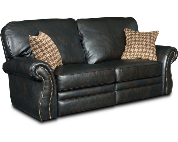 Chesterfield Sofa Sectional Recliner Sofa with Cup Holders in Chocolate Microfiber Sort of what our next couch