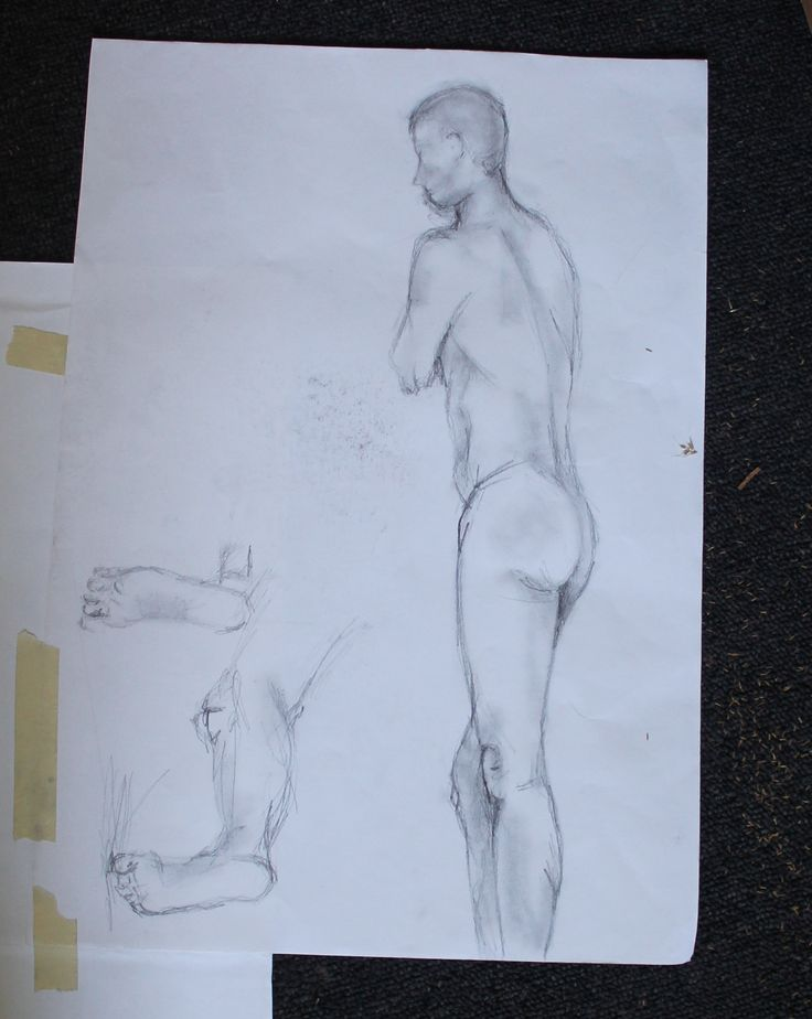 life drawing - perspective