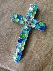 DIY - How to make a mosaic cross