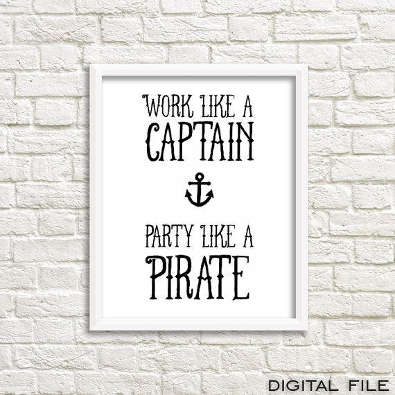 pirates of the caribbean poster pirate quotes anchor von GrafikShop