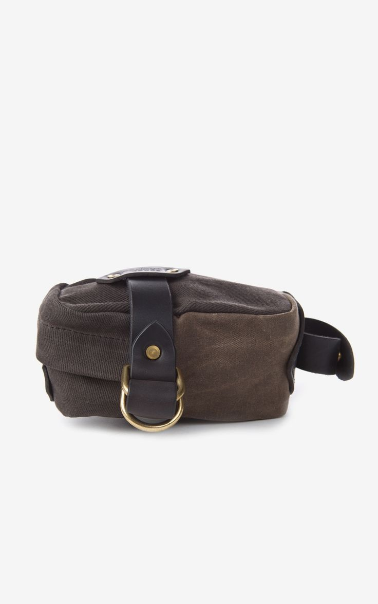Tanner Goods Courier Saddle Bag Burnt Oak