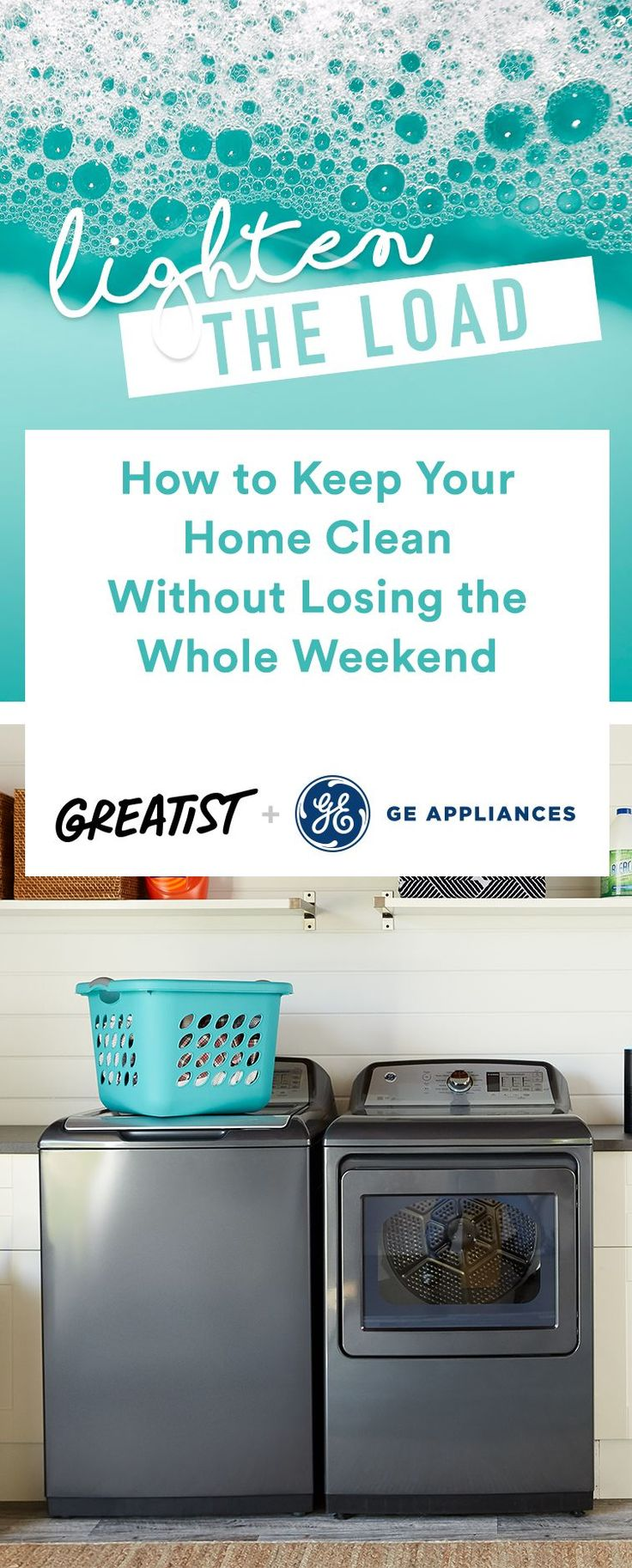 """""""Just put the hamper where the clothes pile ends up—you'll use it."""" #greatist https://greatist.com/live/how-to-clean-your-home-efficiently"""