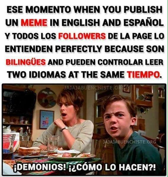 Ahhh Pero En La Clase De Ingles 0 Memes New Memes Funny Spanish Memes