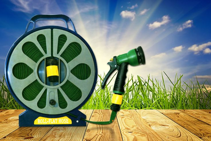 Buy 50ft Garden Flat Hose & Spray Nozzle - 7 Settings! UK deal for just £6.98 £6.98 instead of £36 (from Direct 2 Publik) for a 50ft lay flat garden hose with spray nozzle - save 81% BUY NOW for just £6.98