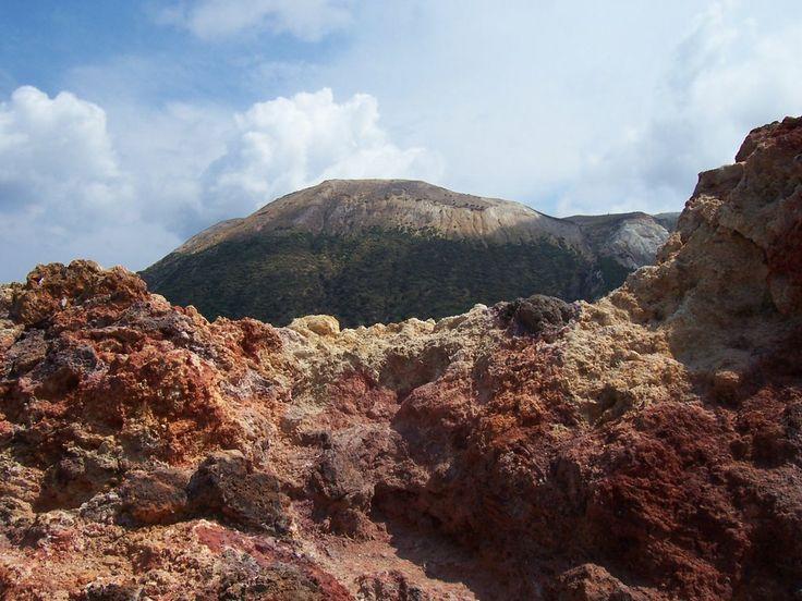 Vulcano - Roccia vulcanica