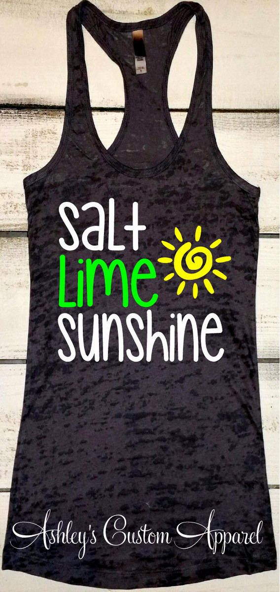 Funny Drinking Shirt Sunshine Tank Funny Vacation Shirt
