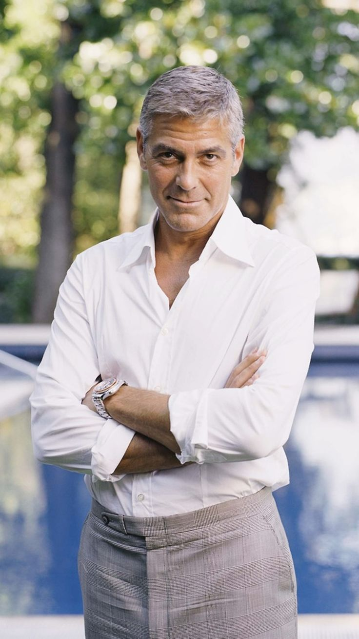 George Clooney. I am married, not dead!