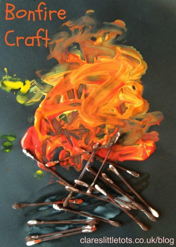 fun bonfire craft for kids