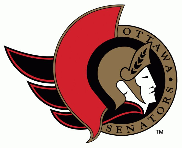 The logo the Senators used when they came back to the NHL in 1992.