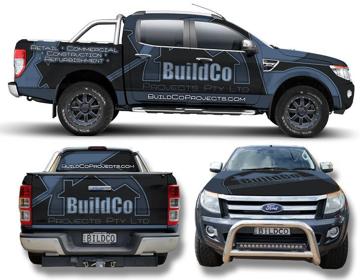 Image Result For Construction Company Branding Car Wrap Construction Company Company Branding