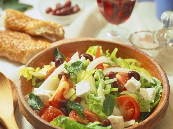 Uschis griechischer salat