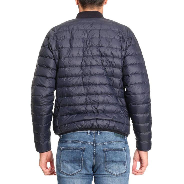Chaqueta Armani Jeans para hombre blue | Chaqueta Giorgio Armani 6Y6B79 6NMUZ a la venta en línea en Giglio.com