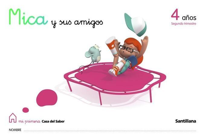 MICA 4 años Santillana